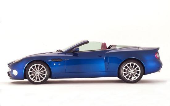 Aston Martin V12 Vanquish Zagato Roadster
